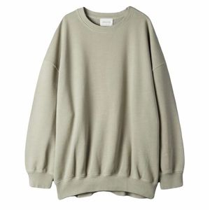 Aritzia Wilfred Free Orbit Oversized Sweatshirt in Green Sz XXS
